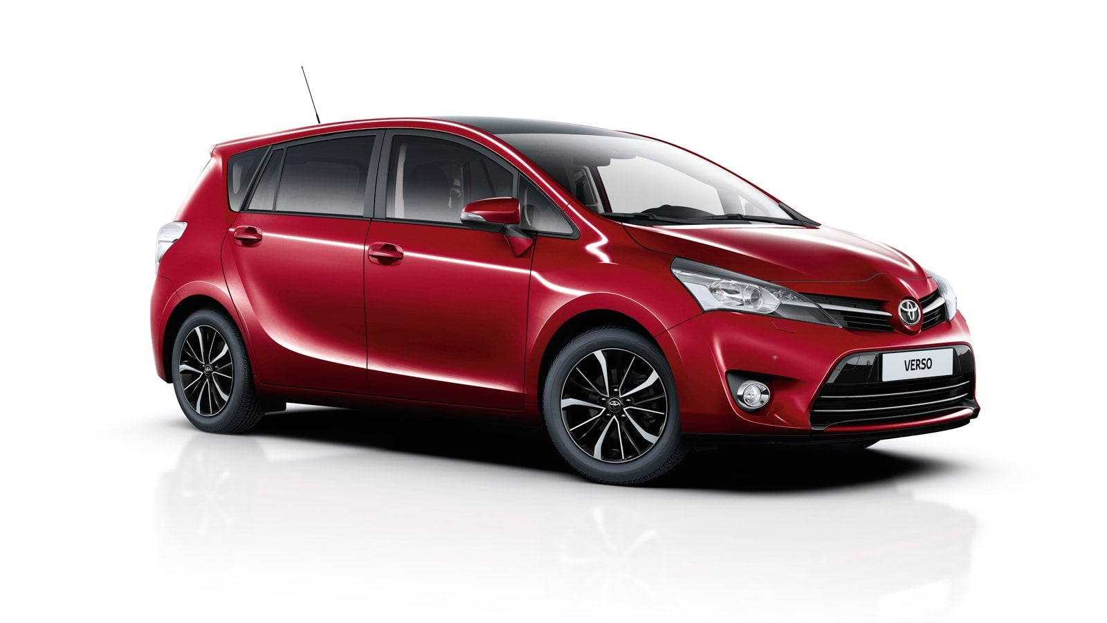 Toyota Verso: frontal
