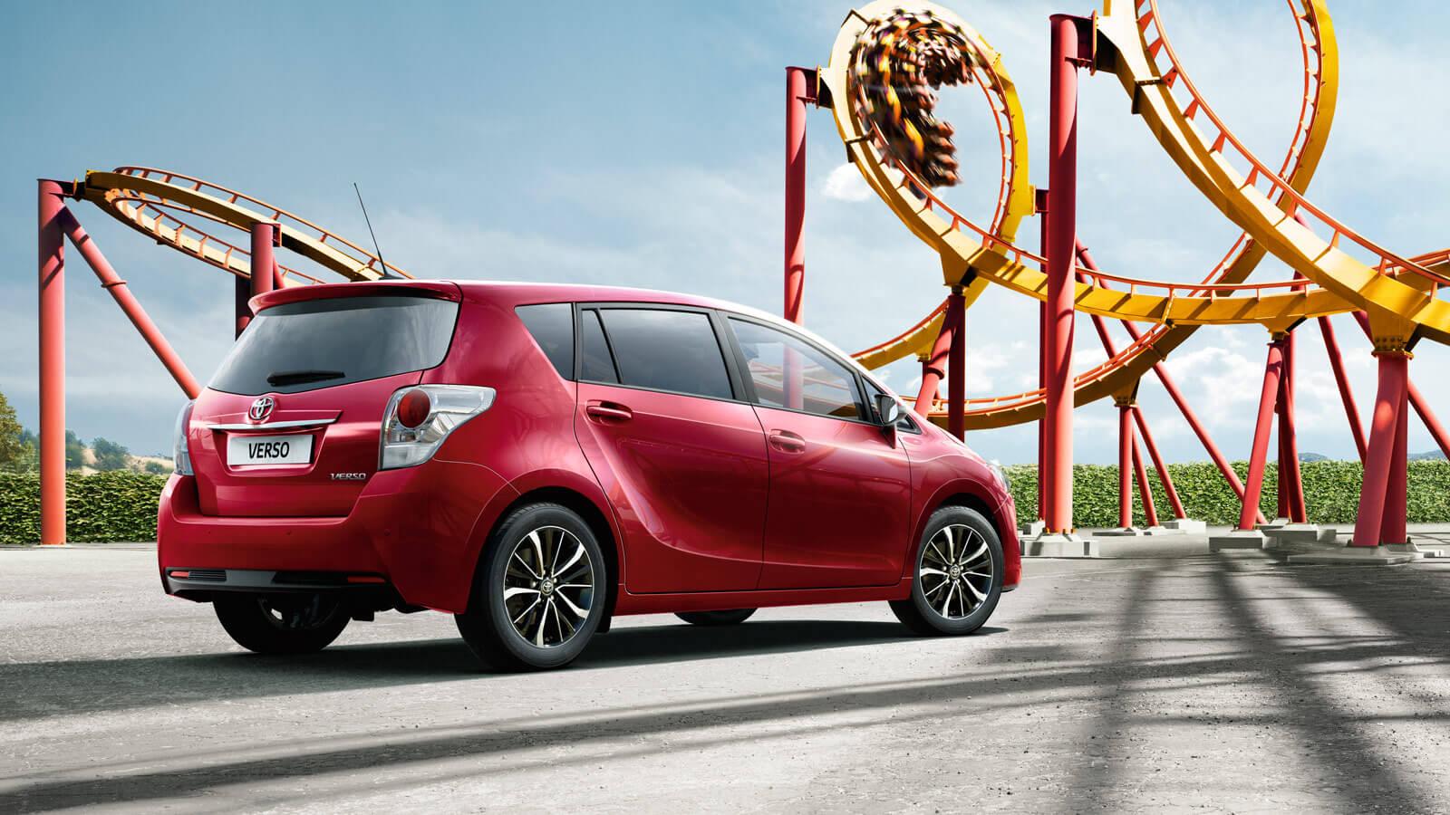 Toyota Verso: trasera