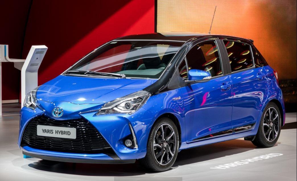 Toyota Yaris híbrido: frontal