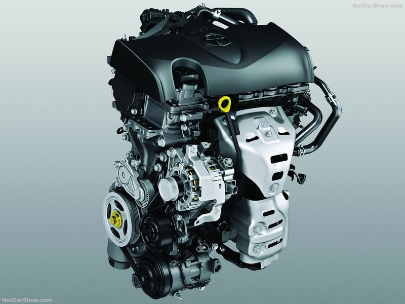 Toyota Yaris: motor