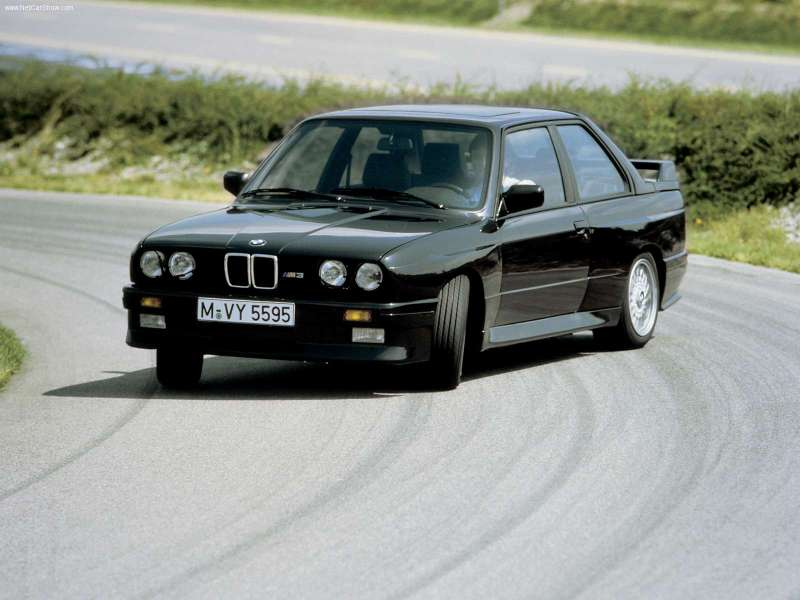 BMW M3 E30: drift