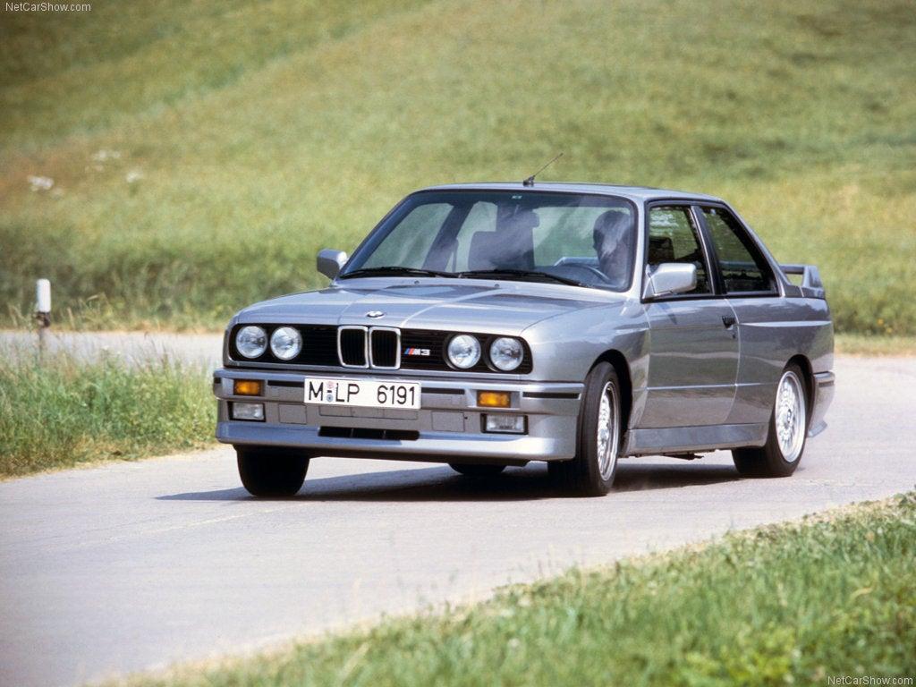 BMW M3 E30: frontal