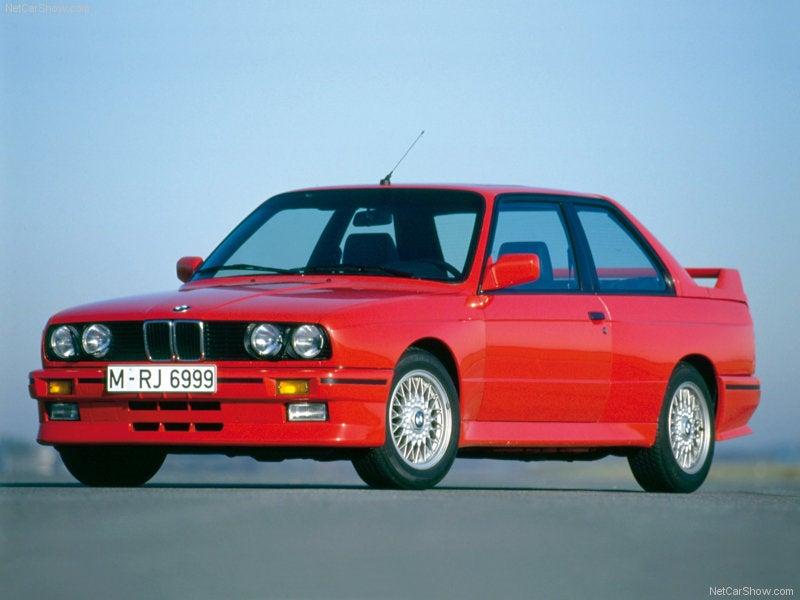 BMW M3 E30: lateral