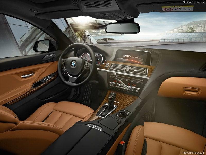 BMW Serie 6: interior