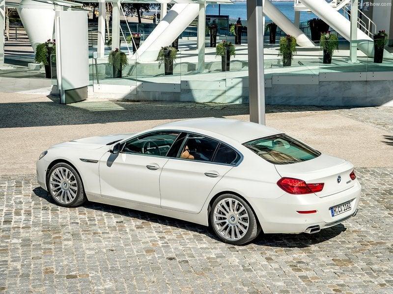 BMW Serie 6: trasera