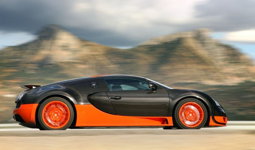 Bugatti Veyron Super Sport, uno de los coches de Beyonce.