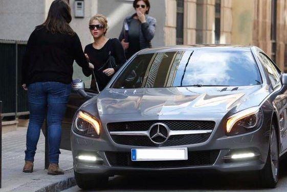 Los coches de Shakira