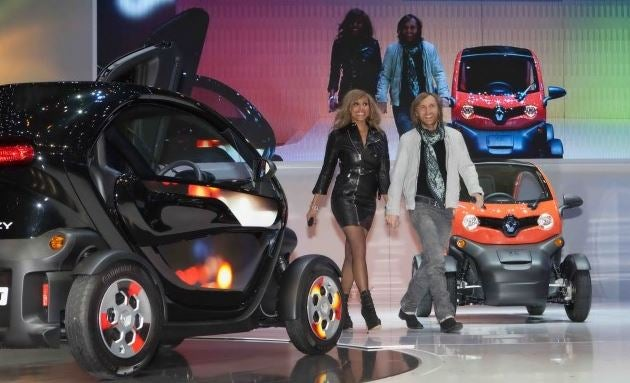 Los coches de David Guetta