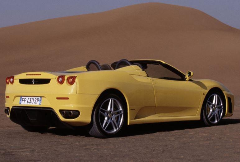 Ferrari F430 Spider.
