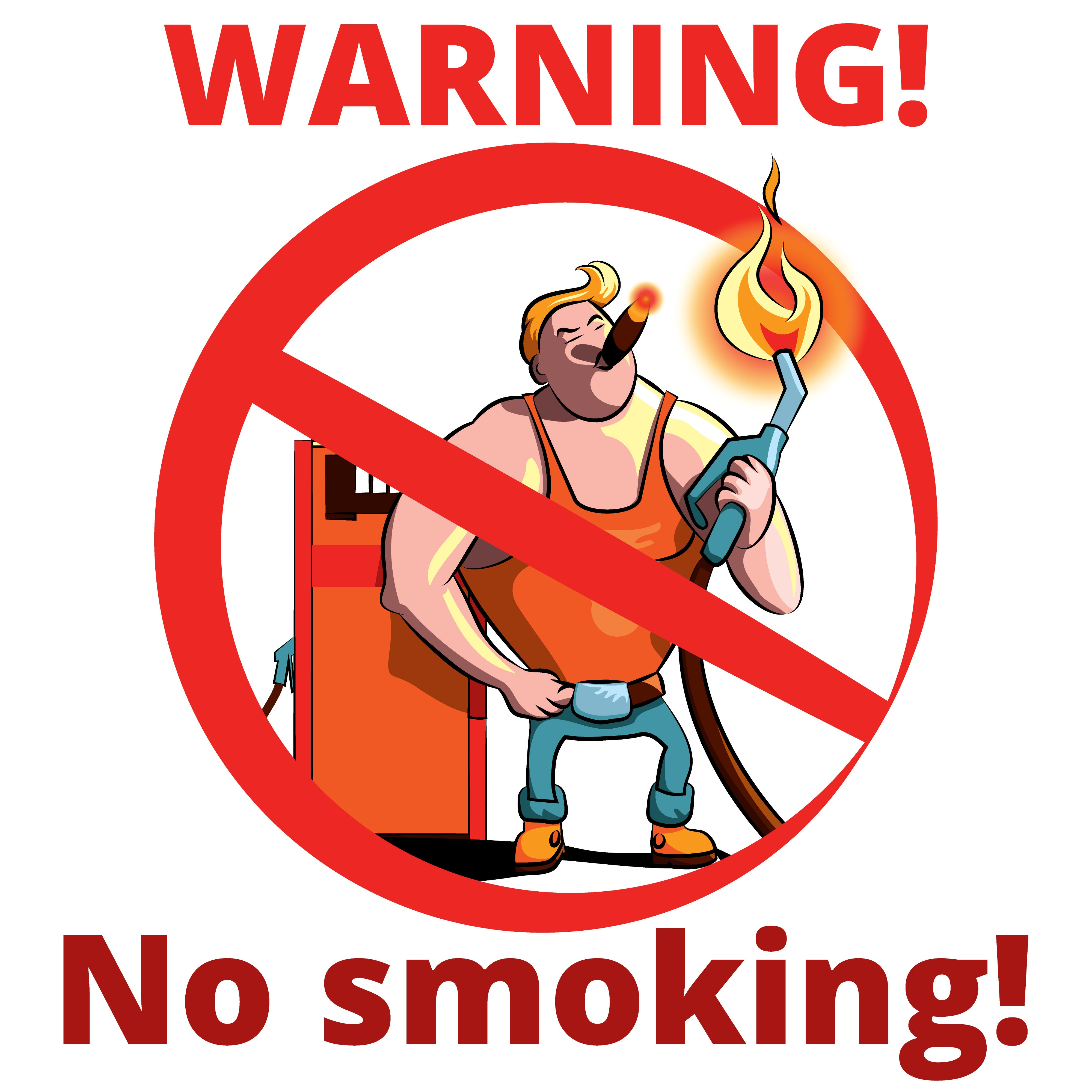 Fumar en gasolineras