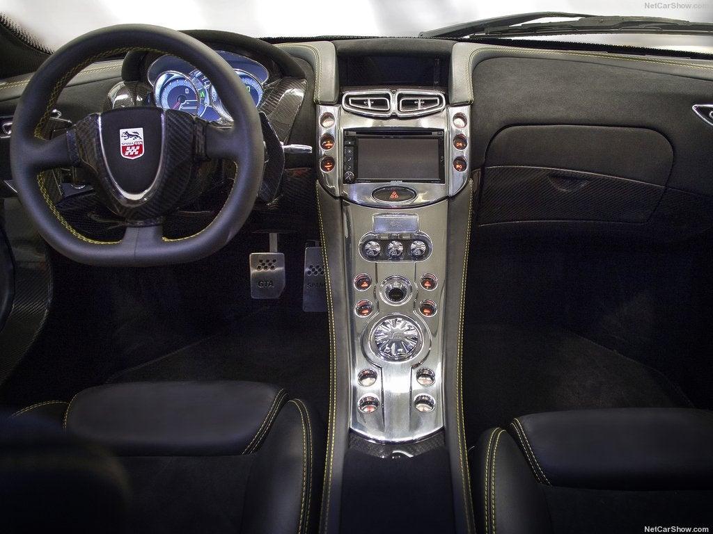 GTA Spano: interior
