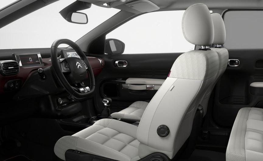 Interior del Citroën C4 Cactus.