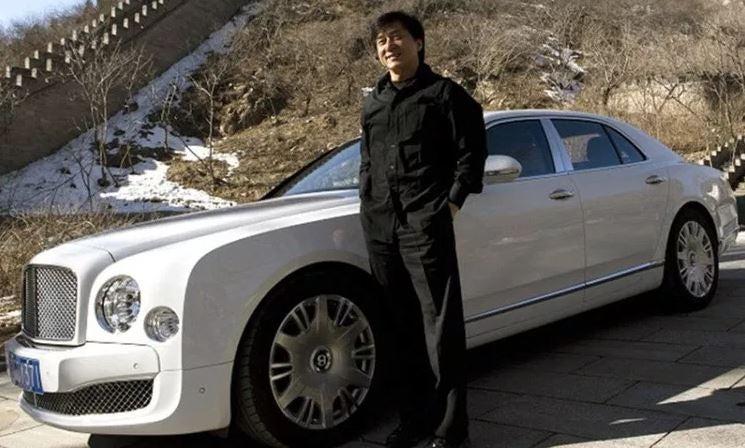 Los coches de Jackie Chan