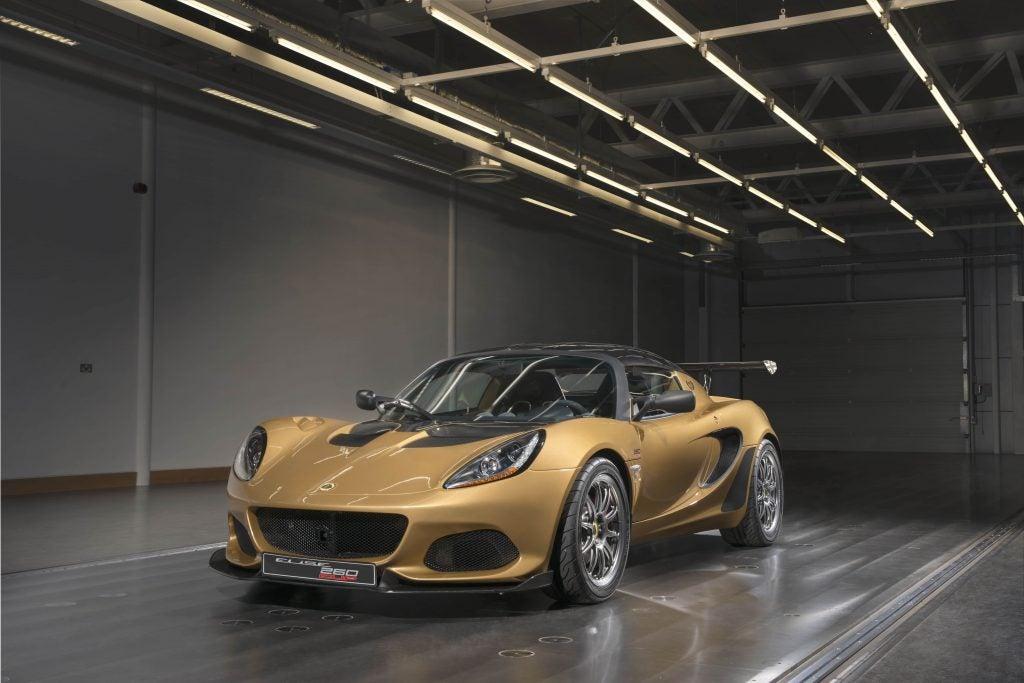 Lotus Elise Cup 260: edición limitada