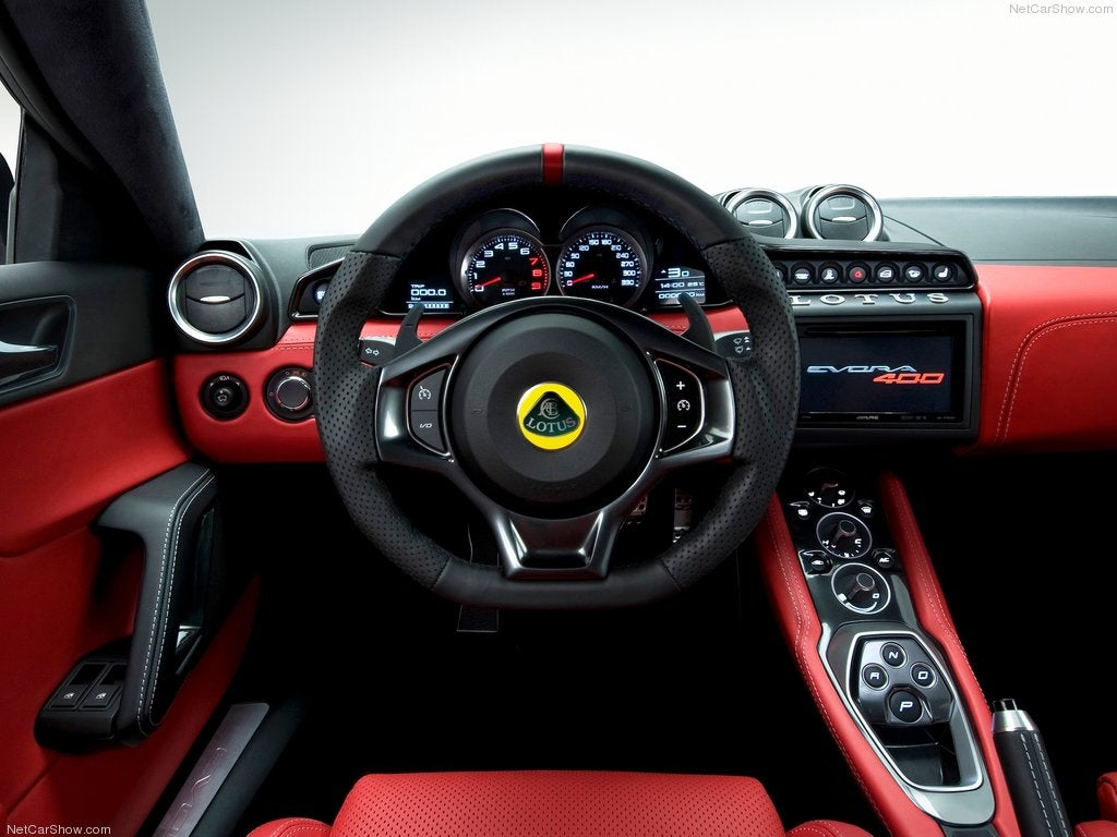 Lotus Evora 400: interior