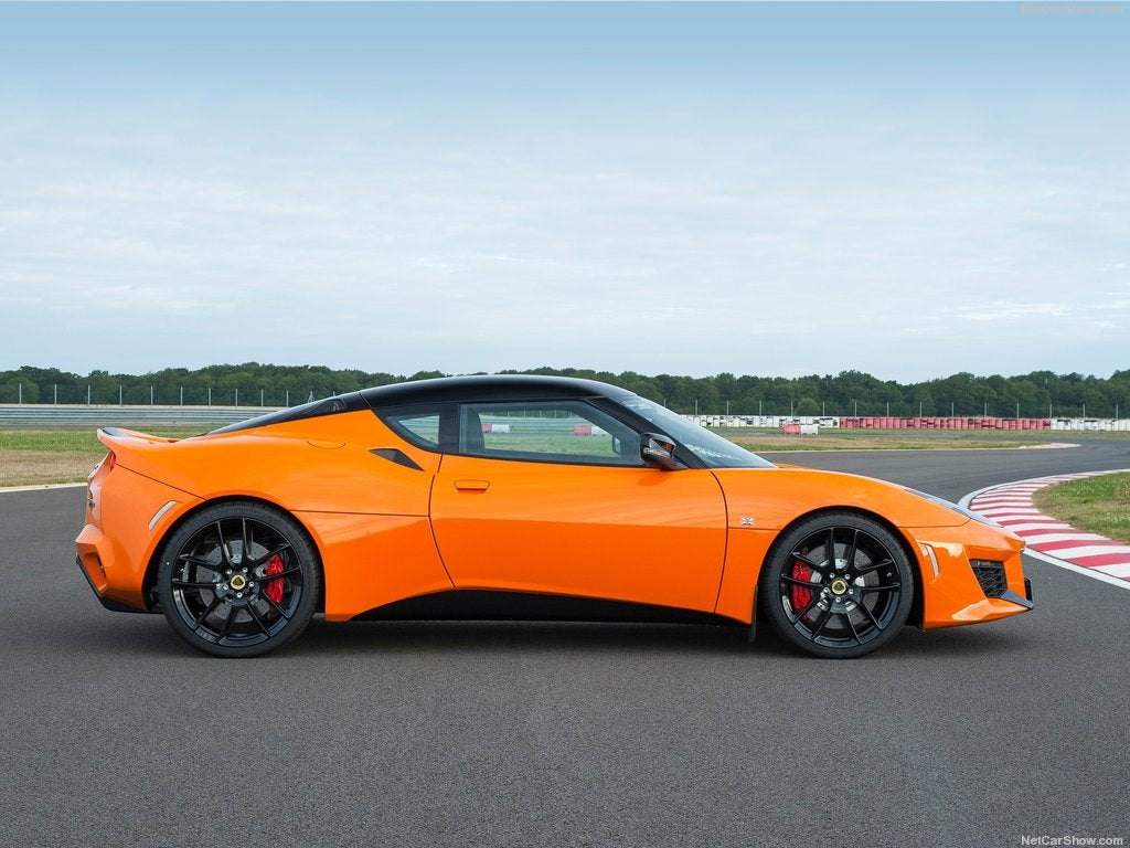 Lotus Evora 400: lateral