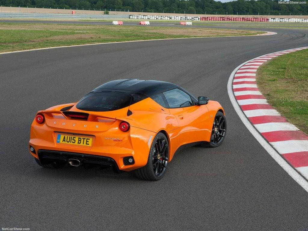 Lotus Evora 400: trasera