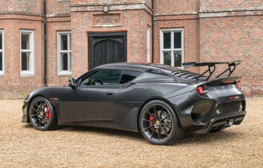 Lotus Evora GT430 silueta.