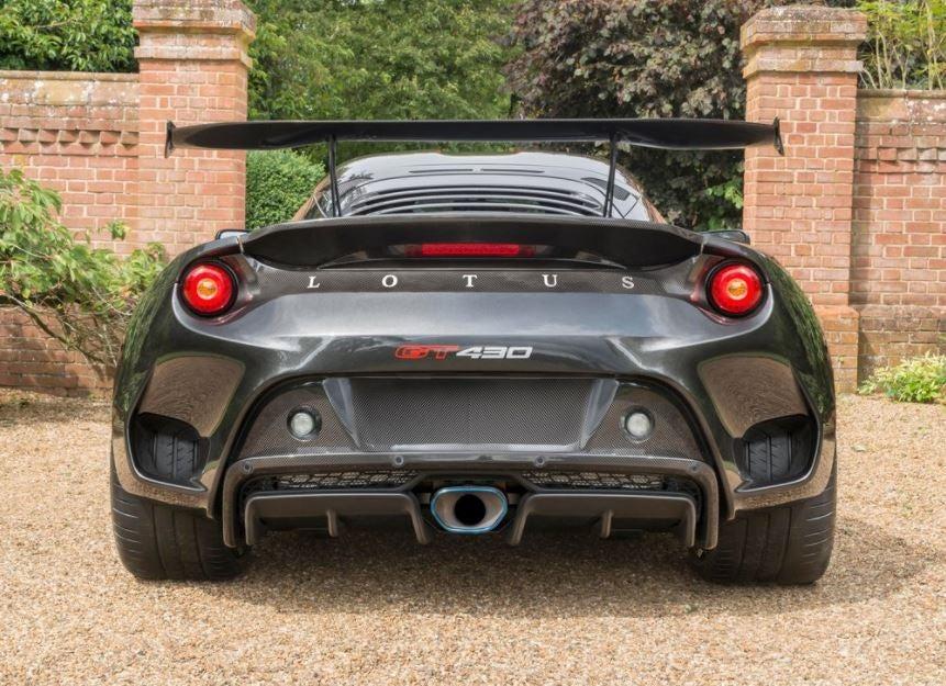 Lotus Evora GT430 trasera.