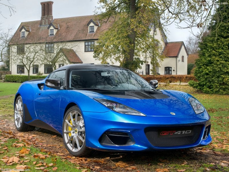 Lotus Evora GT410 Sport: evolución técnica