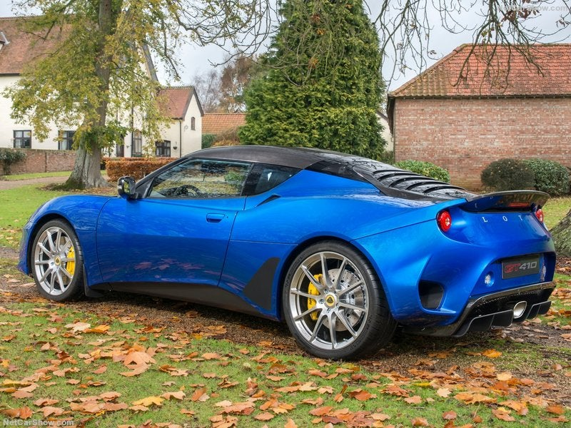 Lotus Evora GT410 Sport: lateral