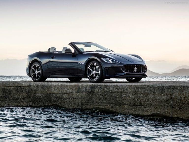 Maserati GranCabrio, la belleza italiana a cielo abierto
