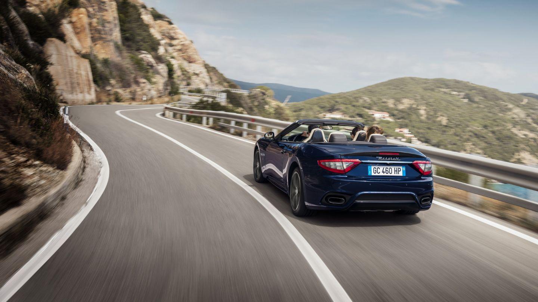 Maserati GranCabrio: trasera