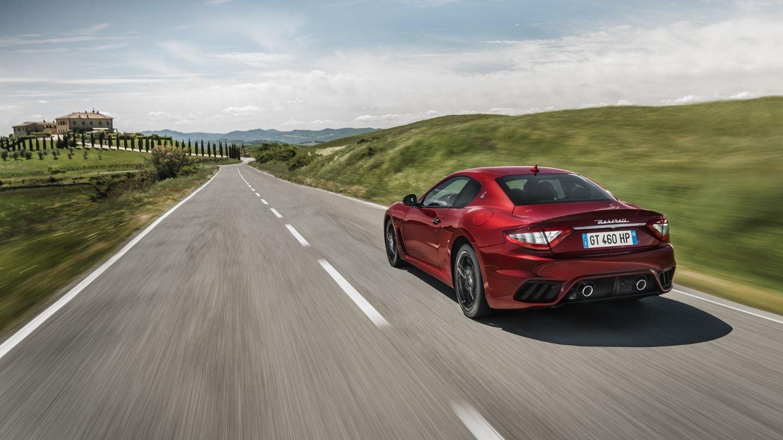 Maserati GranTurismo: trasera
