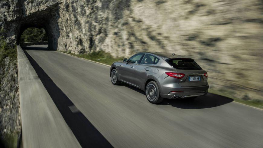 Maserati Levante: trasera