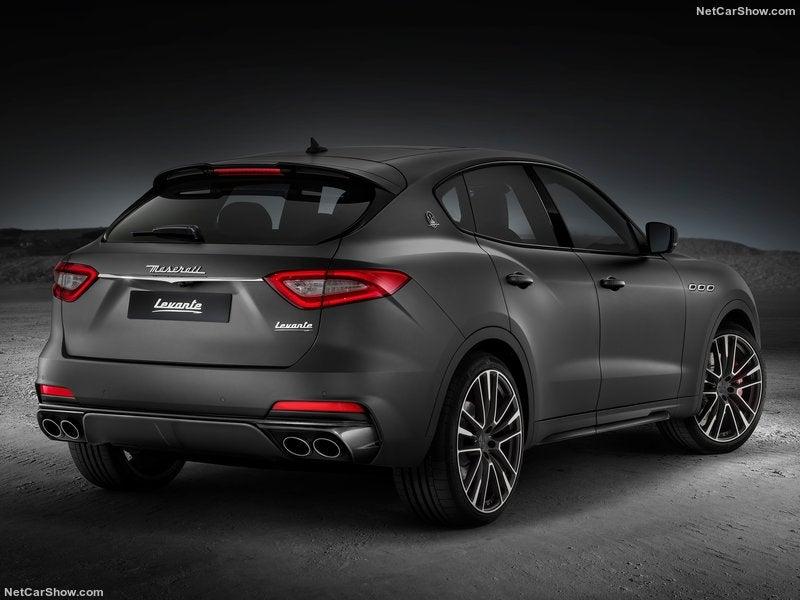 Maserati Levante Trofeo: trasera