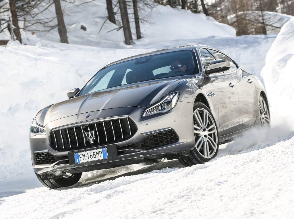 Maserati Quattroporte, la berlina de representación italiana