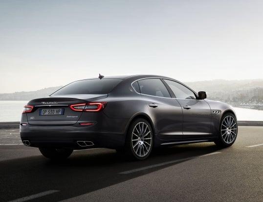 Maserati Quattroporte: trasera