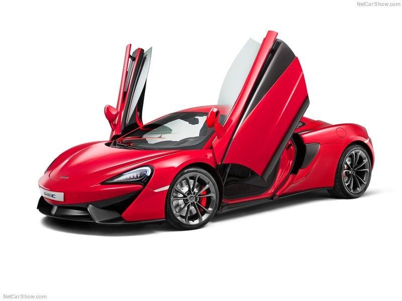 McLaren 540C, el McLaren más accesible de la gama