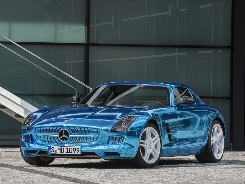 Mercedes SLS AMG SLS AMG Electric Drive
