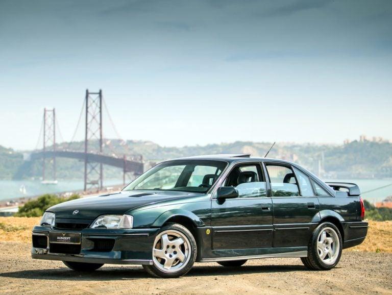 Opel-Lotus Omega, el olvidado pero eficaz rival del BMW M5