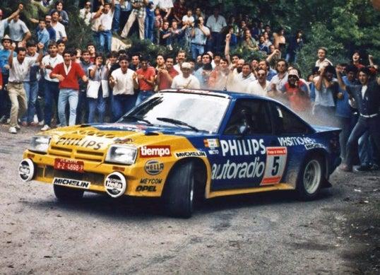 Opel Manta 400 Grupo B: frontal