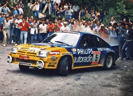 Grupo B: Opel Manta, el estreno de Carlos Sainz