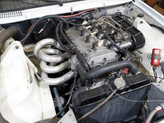 Opel Manta 400 Grupo B: motor