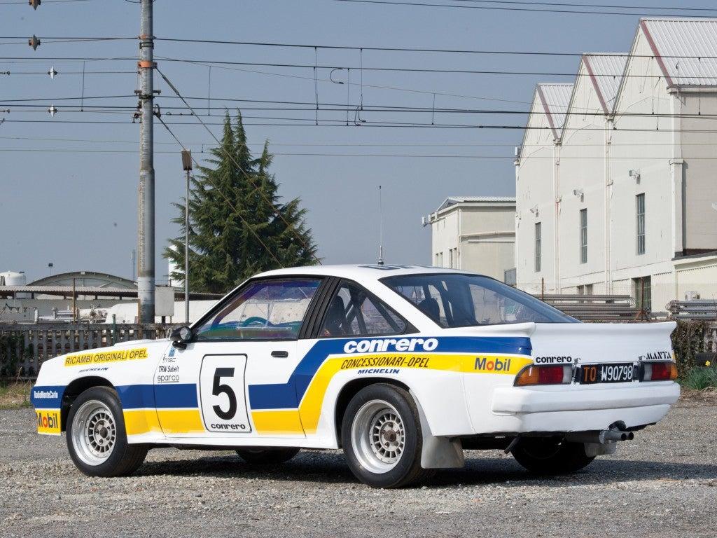 Opel Manta 400 Grupo B: trasera