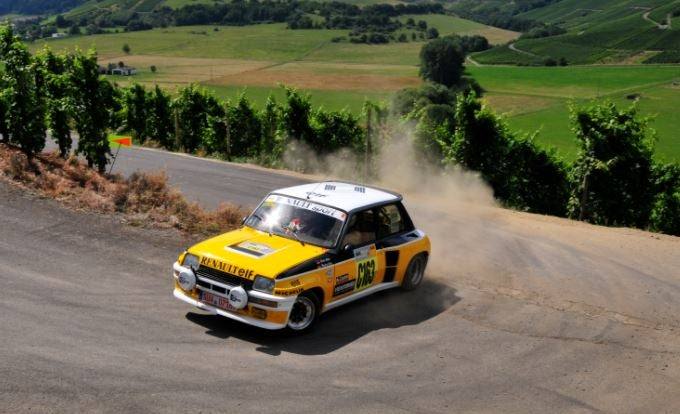 Renault 5 de rally.