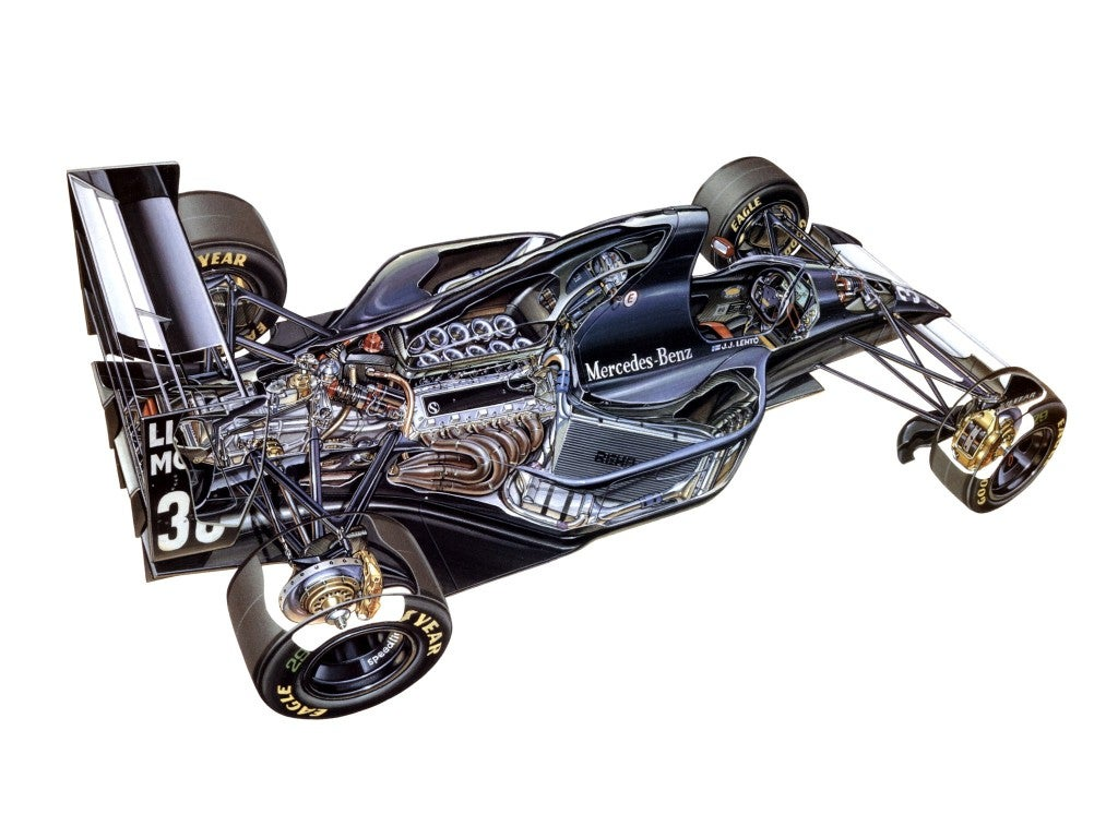 Sauber Mercedes C12