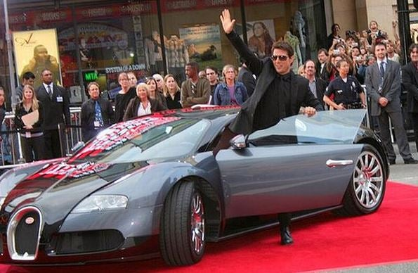 Los coches de Tom Cruise