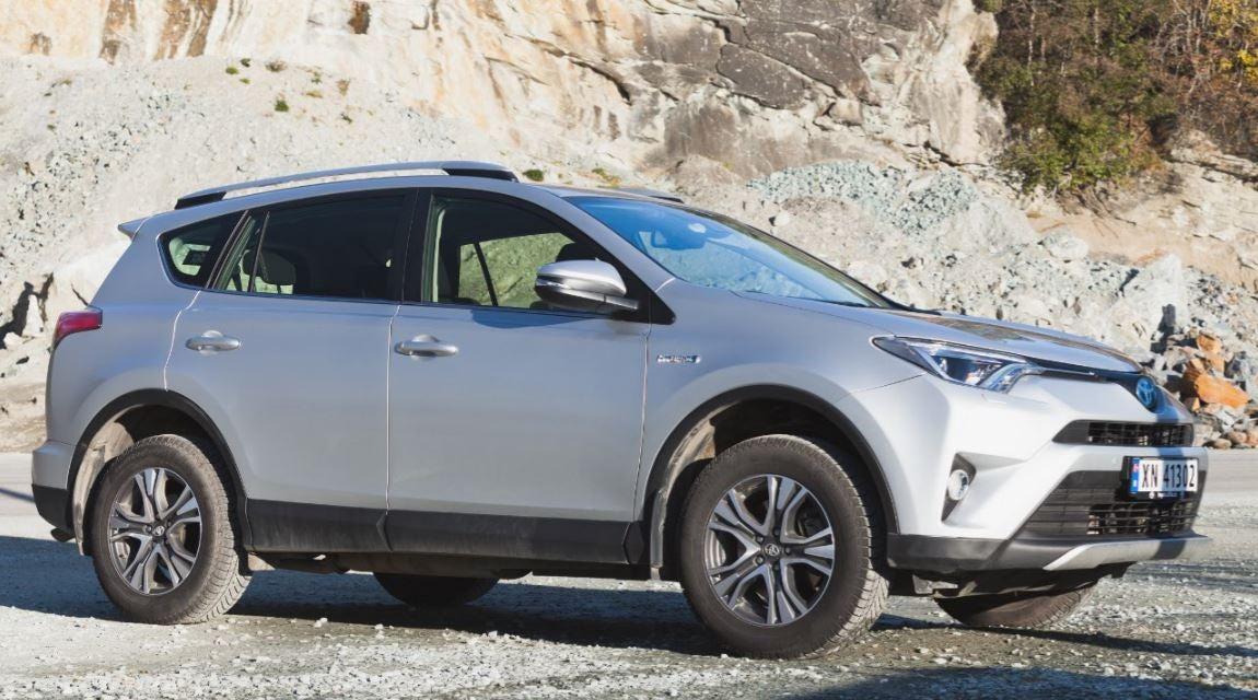 Toyota RAV4: frontal