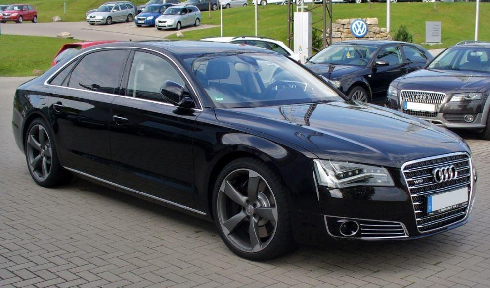 Audi A8 de Amancio Ortega.