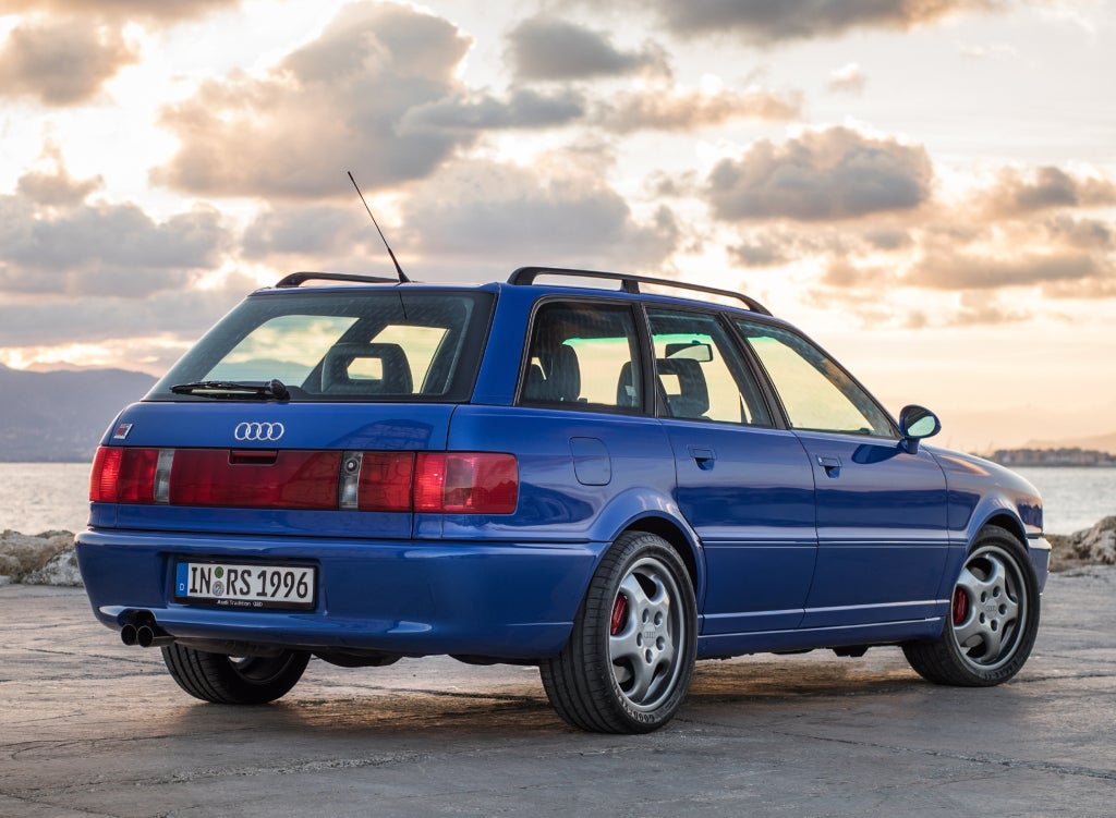 Audi RS2 Avant: trasera