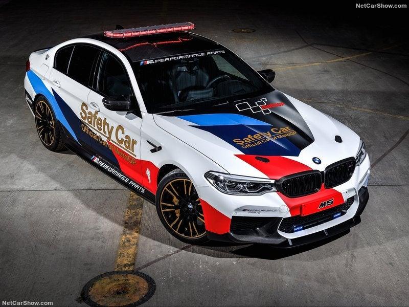 BMW M5 Safety Car, dispuesto a poner a raya a las MotoGP