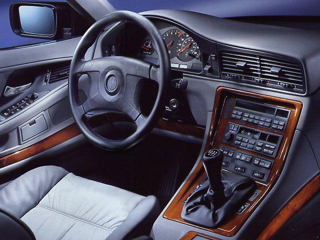 BMW Serie 8: interior