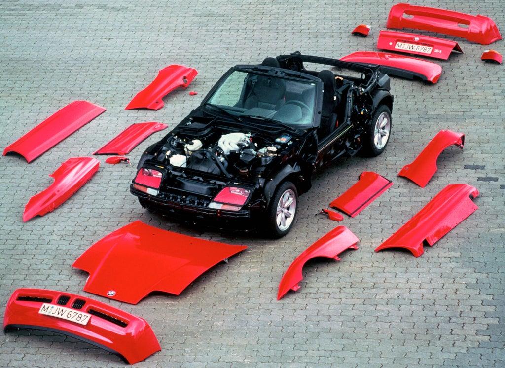 BMW Z1: chasis