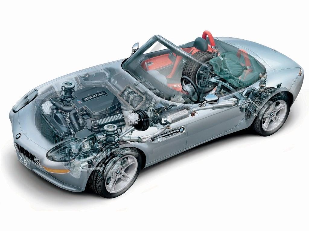 BMW Z8: chasis