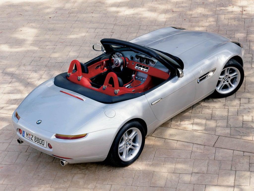 BMW Z8: trasera